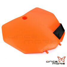 Plastic Front Number Plate For KTM 200 250 350 450 XC-F 125 150 250 SX Orange