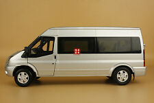 1:18 Jiangling Ford Transit Silver color + gift