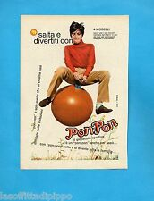 TOP970-PUBBLICITA'/ADVERTISING-1970- SALTA E DIVERTITI CON PON-PON