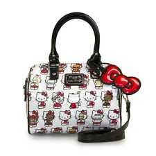 Loungefly Bolsa santb 1476 Hello Kitty Kitty En Relieve Duffle de múltiples