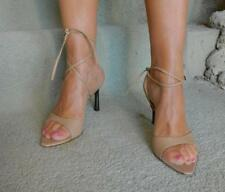 VINTAGE Edmond Jacob Flirty Tie up Made in Spain Leather Heels Size 40