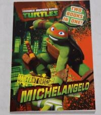 NEW Teenage Mutant Ninja Turtles Book - Michelangelo Raphael Mutant Origin TMNT