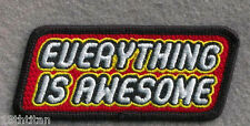 Hook patch Everything is Awesome Brick Lover Morale tactical