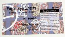 EAGLE EYE CHERRY billet ticket concert 25/01/2004 LUXEMBOURG
