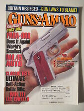 Guns & Ammo Magazine. August 2001. Remington M-700 DAO .45 Auto MK III