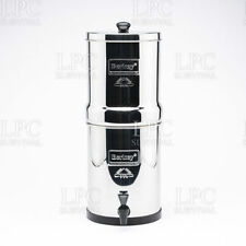 "NEW Travel Berkey with Two 7"" White Ceramic Filters"