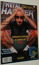 METAL HAMMER # 36/ ANTHRAX IRON MAIDEN WASP ZZ TOP DEEP PURPLE JANE'S ADDITCTION