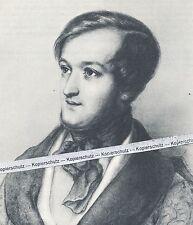 Richard Wagner - Poträt des Komponisten - O 11-9