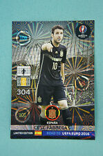 Panini Adrenalyn XL Road to Uefa Euro 2016 Cesc Fabregas Limited Edition