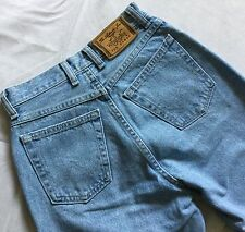 Vintage Wrangler womens high waist Molly DK cropped blue jeans
