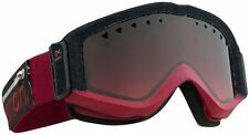 NEW ANON FIGMENT SNOWBOARD SNOW GOGGLES TORN RED GRADIENT LENS PREMIUM MIRROR