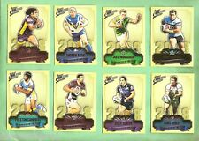 2009 NRL CLASSIC 2008  CLUB PLAYER OF THE YEAR RUGBY LEAGUE CARD SET CP1 to CP16