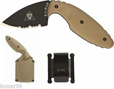 KA-BAR #1477CB TDI LAW ENFORCEMENT / SELF DEFENSE CONCEALMENT KNIFE SYSTEM