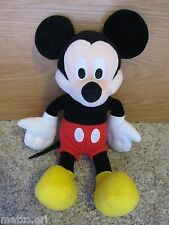 "MICKEY MOUSE 16"" SUPER SOFT PLUSH TOY DISNEY PARKS VERY CUTE *LN"