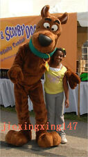 New Scooby Doo Dog Mascot Costume Cosplay Adult Size Fancy Dress Christmas.
