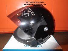 casco Jet Roof Rover RO5 fiberglass e mascherina rimovibile Noir nero lucido XS