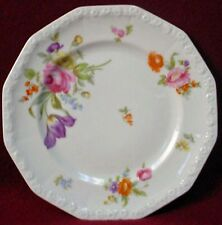 ROSENTHAL china FLOWERS (Maria) pattern Salad or Dessert Plate - 7-7/8""