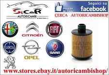 FILTRO OLIO TECNOCAR OP400 NUOVA FIAT GRANDE PUNTO 1.3 - 1.6 - 1.9 MJET