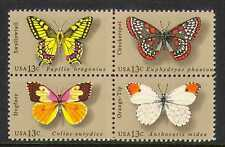 USA 1977 Butterflies/Insects/Nature/Butterfly 4v blk (n20314)