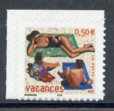 STAMP / TIMBRE FRANCE NEUF N° 3578 ** TIMBRE POUIR VACANCES / ISSUS DE CARNET