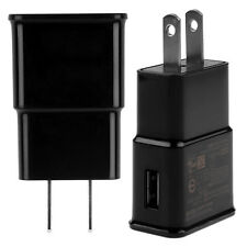 Black 2AMP Wall Charger Power Adapter for Samsung Galaxy Note II III N7100 N9000