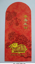 Ang Pow Red Packet Hong Bao – 2pcs 2011 GIANT  Rabbit Year