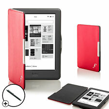 Forefront Cases Red Smart Shell Case Cover for Kobo Touch 2.0 eReader + Stylus