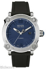 Bulova Accu Swiss 63B190 Percheron Sapphire Glass Date Display Watch