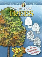 HOW TO DRAW TREES ~ ADULT COLORING BOOK ~ STEP-BY-STEP DIRECTION ~ EASY 2 FOLLOW