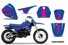 Yamaha Graphic Kit AMR Racing Bike Decal PW 80 Decal MX Parts 1996-2006 CONTEND
