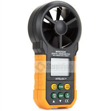 HYELEC MS6252B USB LCD Digital Anemometer Air Volume Temperatur Humidity Tester