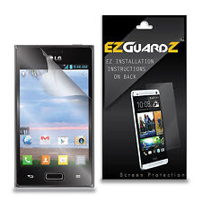4X EZguardz Screen Protector Shield 4X For LG Optimus Extreme L40G (Ultra Clear)