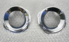 VAUXHALL VECTRA C VXR / LINE PACK 2 FOG LIGHT SURROUND CHROME RING SET NEW 03-09