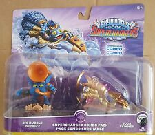 SKYLANDERS SUPERCHARGERS BIG BUBBLE POP FIZZ & SODA SKIMMER COMBO PACK