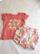 Baby Girls Clothes 3-6 Months - Cute  Outfit - T Shirt Top & Shorts