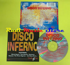 CD DISCO INFERNO compilation GAYNOR C. DOUGLAS HEATWAVE no lp mc dvd vhs (C15)