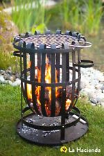 La Hacienda Vancouver Firebasket with Grill Wood Burner