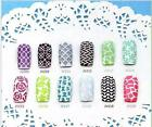 Easy Reusable Stamping Tool Nail Art Template Stickers Stamp Stencil Guide uf
