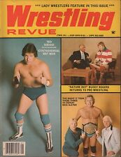 Wrestling Revue January 1983 Ted DiBiase, Buddy Rogers, Dick Slater EX 011316DBE