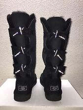 UGG CLASSIC TALL AMELIE SWAROVSKI CRYSTAL BLACK BOOTS US 11 / EU 42 / UK 9.5 NEW