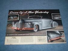 """1941 Cadillac Convertible Custom Article """"Dawn of a New Yesterday"""""""