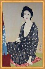 Natsugoromo no onna, Woman in a Summer Garment Goyo Hashiguchi Frauen B A1 02140