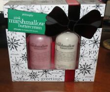 Philosophy pink marshmallow buttercream shower gel & Lotion 8 oz each NEW!
