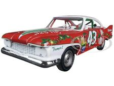 RICHARD PETTY 1960 PLYMOUTH FURY #43 2015 CHRISTMAS ED 1/24 LTD AUTOWORLD 24003