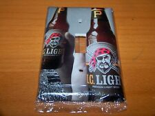 IRON CITY I.C. LIGHT BEER PITTSBURGH PIRATES LIGHT SWITCH PLATE #2