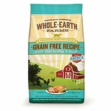 Whole Earth Farms Grain Free Recipe Dry Cat Food, Turkey and Duck, 5 lb. New