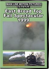 East Broad Top Fall Spectacular 1999 DVD NEW Main Line EBT Orbisonia M-1 M-4
