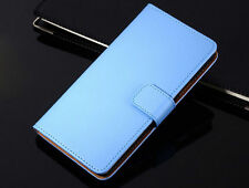 Genuine Leather Wallet Flip Case Cover For Samsung Galaxy Series Model