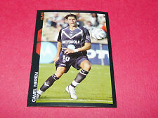 121 CAMEL MERIEM GIRONDINS BORDEAUX PANINI FOOTBALL SUPER FOOT 2005 2006