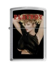 Zippo 0714 playboy cover june 1988 brushed chrome Lighter